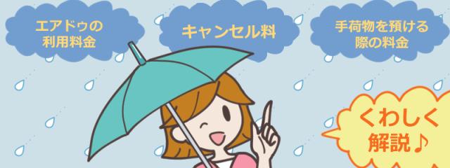 エアドゥ(AIR DO)の利用料金!キャンセル料金や手荷物料金はかかるの?