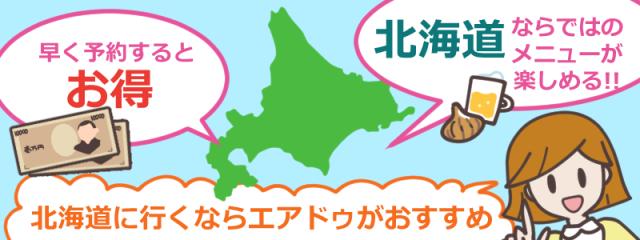 北海道の航空会社エアドゥ(AIR DO)の評判とは?料金やサービスを徹底調査