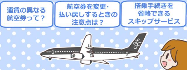 スターフライヤー(Star Flyer)の航空券で知っておきたいポイント紹介